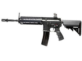G&G Top Tech Black T418 Airsoft Electric Gun
