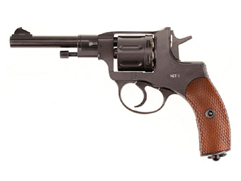 Gletcher Steel Pellet Revolver CO2 4.5 Mm Pellet Pistol