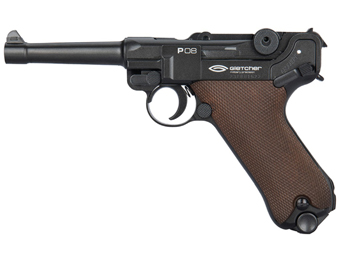 Gletcher P08 Steel BB .177 Caliber CO2 Pistol