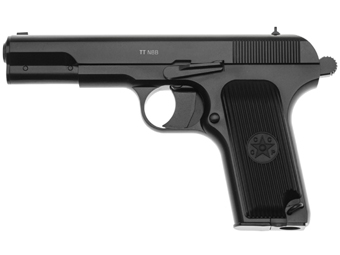 Gletcher Steel TT NBB 4.5mm CO2 Pistol