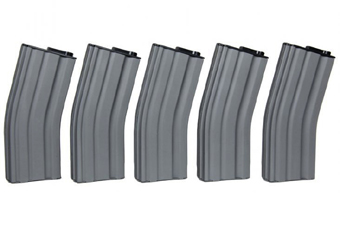 MAG 190rd AEG Magazine (Set of 5)