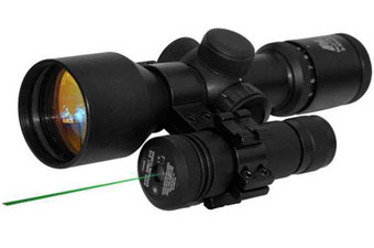Ncstar Green Laser With Scope Mount