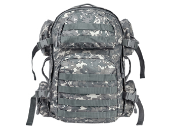 Ncstar Digital Camo ACU Tactical Backpack