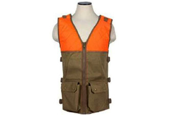 Ncstar Hunting Blaze Orange And Tan Vest