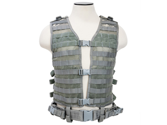 Ncstar Digital Camo Molle Large Pals Vest