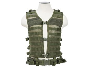 Ncstar Green Molle Large Pals Vest
