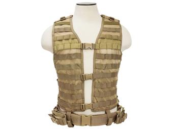 Ncstar Tan Molle Large Pals Vest