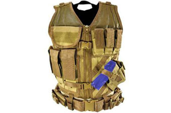 Ncstar Tan Tactical Vest