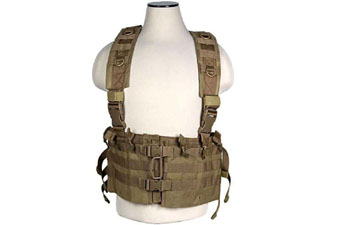 Ncstar Tan AR Chest Rig