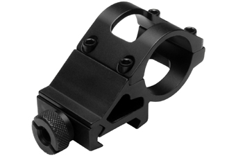 Ncstar 1 Inch Offset Mount For 1 Inch Flashlight With Laser
