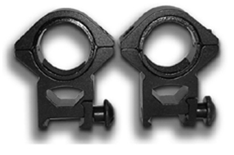 Ncstar 1 Inch Inserts 30Mm Black Weaver Ring