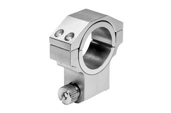 Ncstar 30Mm High Ruger Silver 1 Inch Ring