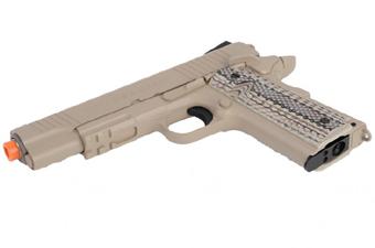 Colt 1911 Rail Gun Dark Earth Airsoft Pistol