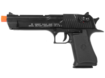 Desert Eagle .50AE CO2 Power Metal Slide Adjustable Spin Up Airsoft Gun