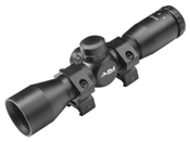 4x32mm Compact Mil-Dot Scope w/ Rings