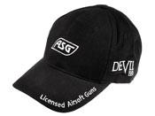 ASG Brand Black Baseball Cap