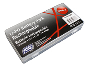 11.1V 1300mAh LiPO Split Cell AEG Battery