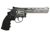 Dan Wesson 6-Inch Silver CO2 Pellet Revolver