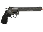 Dan Wesson 8-Inch Grey/Black Airsoft Revolver