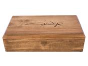 Western Justice John Wayne Signature Pistol Wood Case