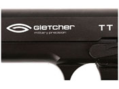 Gletcher Steel Blowback TT .177 Caliber CO2 gun