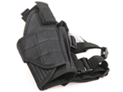 Black Drop Leg Tornado Leg Holster - Right Leg