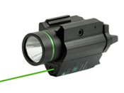 Tactical Laser LED 200 Lumen Pistol Flashlight