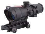 4x32 ACOG Red Optical Fiber Rifle Scope