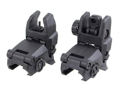 Flip-Up Front & Rear Iron Sights