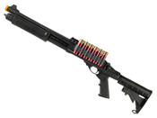 JAG Arms Scattergun TSS Airsoft Shotgun with Side Saddle