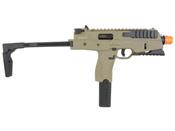 KWA KMP9R NS2 Green Gas BB Airsoft Rifle - Dark Earth