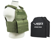 Ncstar 2924 Series Plate Carrier and Hard Plate Set
