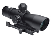 Ncstar Mark III Tactical Series Red And Green Mil-Dot Rifle Scope