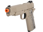 Colt 1911 Rail Gun Dark Earth Airsoft Pistol