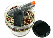 Ultrasonic .12 g BBs w/Colt Airsoft gun