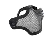 AMP Tactical Single Strap Mesh Face Mask - Half