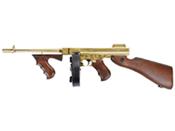 King Arms M1928 Gold Thompson HI Grade Airsoft Rifle