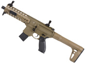 MPX Air .177 Cal 88 Gram Co2 30 Rd Pellet Rifle - Flat Dark Earth Sig20R Red Dot