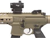 MPX Air .177 Cal 88 Gram Co2 30 Rd Pellet Rifle - Flat Dark Earth Sig20R Red Dot