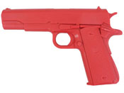 1911 Red Rubber Training Pistol