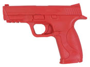 M&P Red Rubber Training Pistol