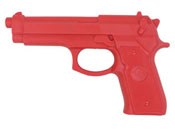 M9 Red Rubber Training Pistol