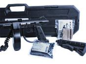 Tactical SMG .22 Cal Pellet Rifle