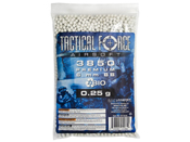 Tactical Force .25g Biodegradable Airsoft BBs 3850ct