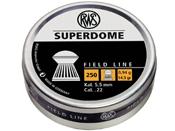 RWS Superdome 5.5mm .22 Pellets 250-Pack