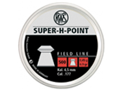 RWS Super H-Point 0.45 .177 Cal Pellets 500-Pack