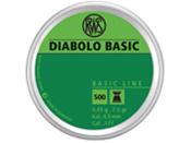 RWS Diabolo Basic 0.45 .177 Cal Pellets 500-Pack