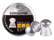 RWS Superdome .22 Cal Round-Nose Pellets 200ct